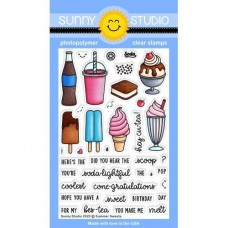 Sunny Studio - Summer Sweets - Clear Stamps 4x6
