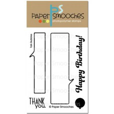 clear stamps paper smooches talk bubbles für scrapbooking & cardmaking