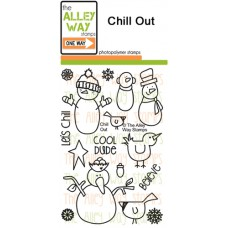 "The Alley Way Stamps - Stempelset 4x6"" - Chill Out"