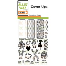 """The Alley Way Stamps - Stempelset 4x6"""" - Cover Ups"""