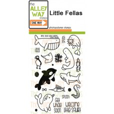 """The Alley Way Stamps - Stempelset 4x6"""" - Little Fellas"""