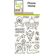 """The Alley Way Stamps - Stempelset 4x6"""" - Phone Home"""