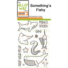 "The Alley Way Stamps - Stempelset 4x6"" - Somethings Fishy"