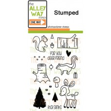 """The Alley Way Stamps - Stempelset 4x6"""" - Stumped"""