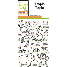 "The Alley Way Stamps - Stempelset 4x6"" - Tropic Topic"