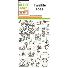"""The Alley Way Stamps - Stempelset 4x6"""" - Twinkle Toes"""