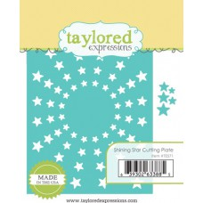 Taylored Expressions Die - Shining Star Cutting Plate 1/4