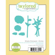 Taylored Expressions Die - Simply Stamped Zinnias 1/4