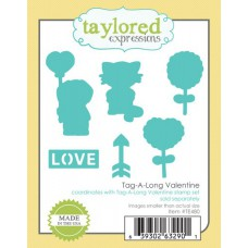 Taylored Expressions Die - Tag-A-Long Valentine 1/4