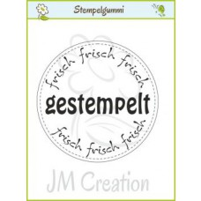 JM Creation - Frisch Gestempelt - Cling Stamp