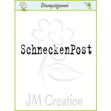 JM Creation - Schneckenpost - Cling Stamp