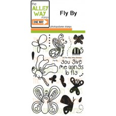 """The Alley Way Stamps - Stempelset 4x6"""" - Fly By"""