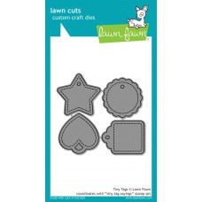 Lawn Fawn - Tiny Tags - Cuts