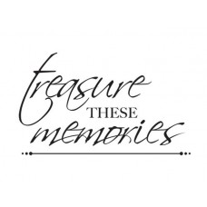 "Kaisercraft - Mini Clear Stamps 2x3"" - Treasured Memories"