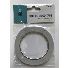 Trimcraft Dot & Dab Double Sided Tape 3mm