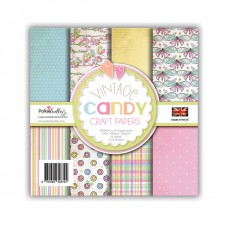 Vintage Candy Craft Papers
