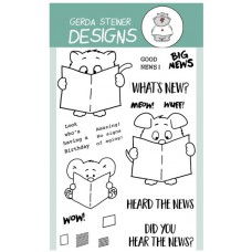 Gerda Steiner Designs - What's New - 4x6 Clear Stamp Set