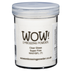 WOW! Embossing Powder - Clear Gloss Super Fine 160ml