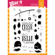 Wplus9 - All Year Cheer - Clear Stamp 4x6