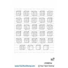 Your Next Stamp - Baby Blocks - Clear Stamps 3x4