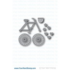 Your Next Stamp - Build A Cute Bike - Stanzen
