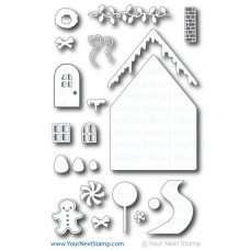 Your Next Stamp Die Set - Ginger Bread House