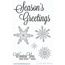 Your Next Stamp Stempelset 4x6 - Winter Wishes