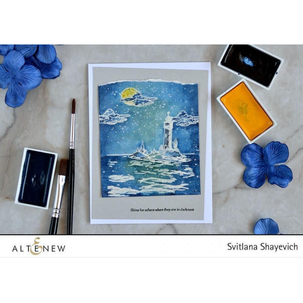Altenew - Be A Lighthouse - Clear Stamps 4x6