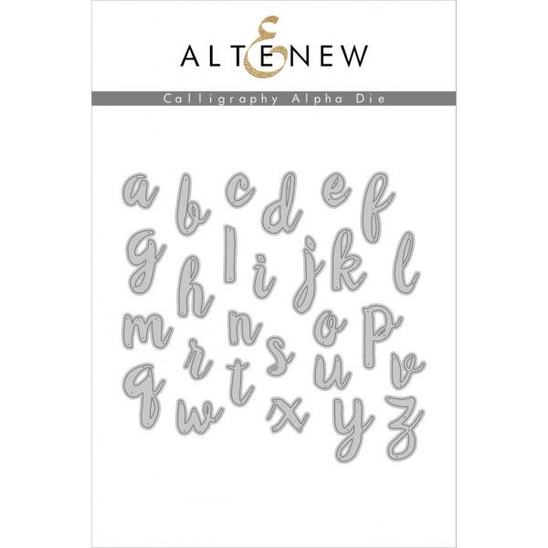 Altenew - Calligraphy Alpha - Stanze