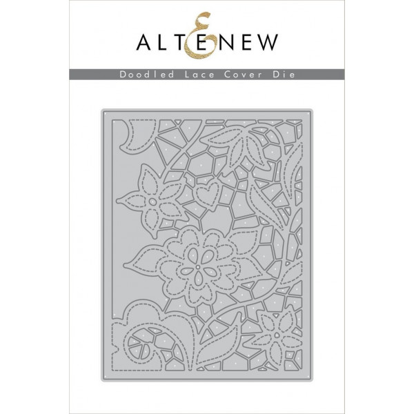 Altenew - Doodled Lace Cover - Stanze