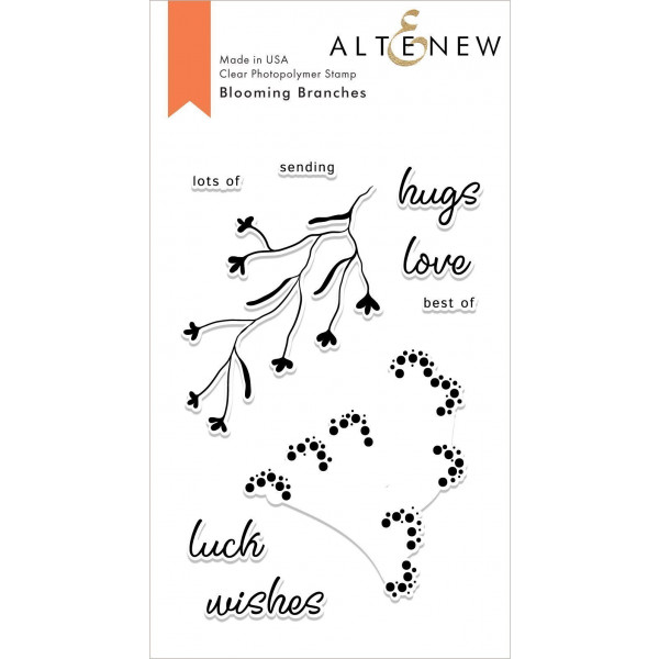 Altenew - Blooming Branches - Clear Stamp 4x6