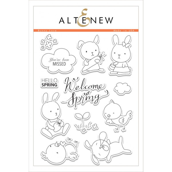 Bunny Love Stamp Set