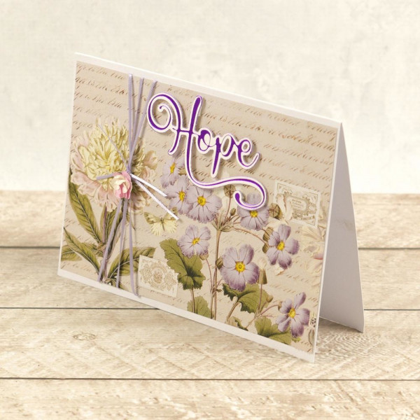 Couture Creations - Cut, Foil & Emboss Die - Hope