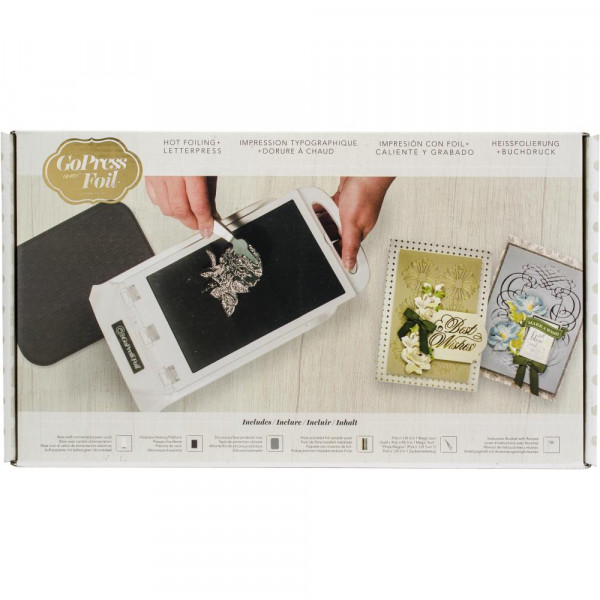 Couture Creations - GoPress & Foil Machine