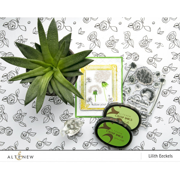 Altenew - Dandelion Wishes - Clear Stamp 4x6