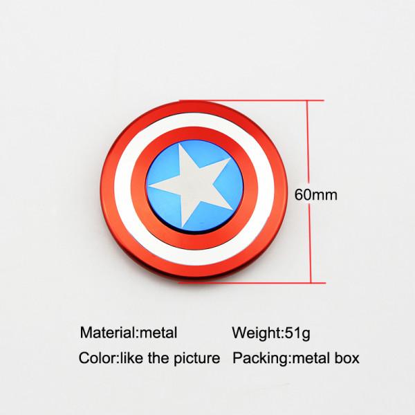 Fidget Spinner - Captain America