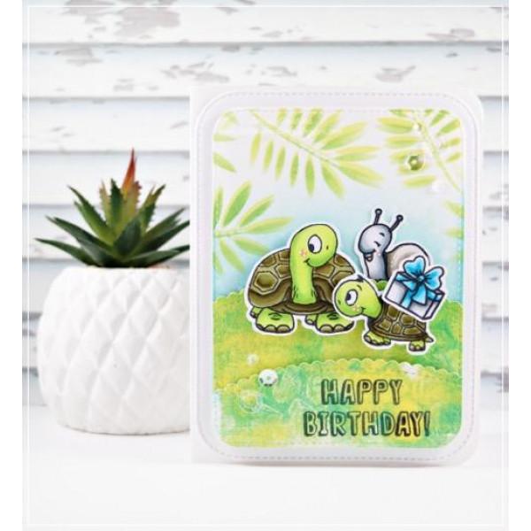 Gerda Steiner Designs - Turtley Great stamps