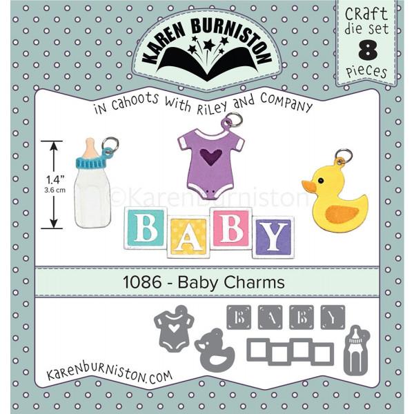 Karen Burniston - Baby Charms Stanzen