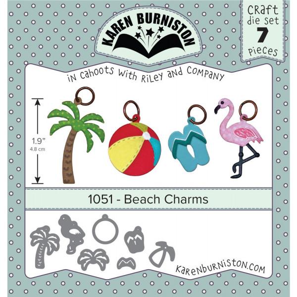 Karen Burniston - Beach Charms Stanzen