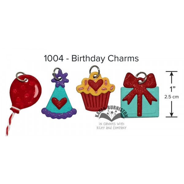 Karen Burniston - Birthday Charms Stanzen