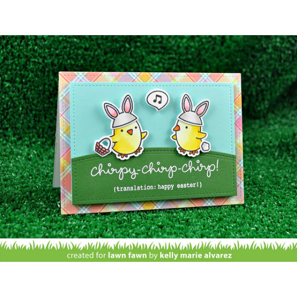 """Lawn Fawn - Stempelset 4x6"""" - Chirpy Chirp Chirp"""