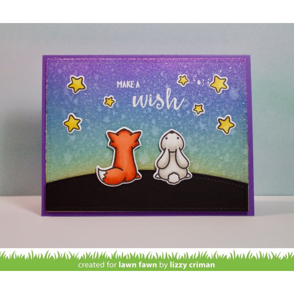 Lawn Fawn - Upon A Star - Clear Stamp 4x6