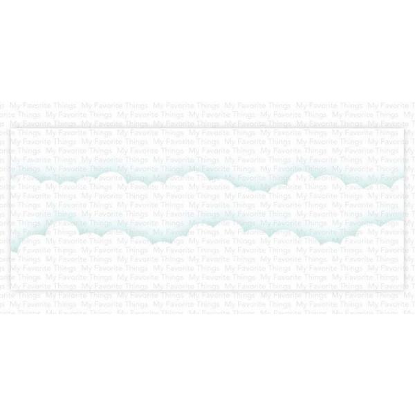 My Favorite Things - Cloud Edges - Slimline Schablone