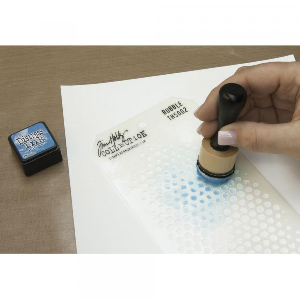 Ranger mini ink blending tool Anwendungsbeispiel