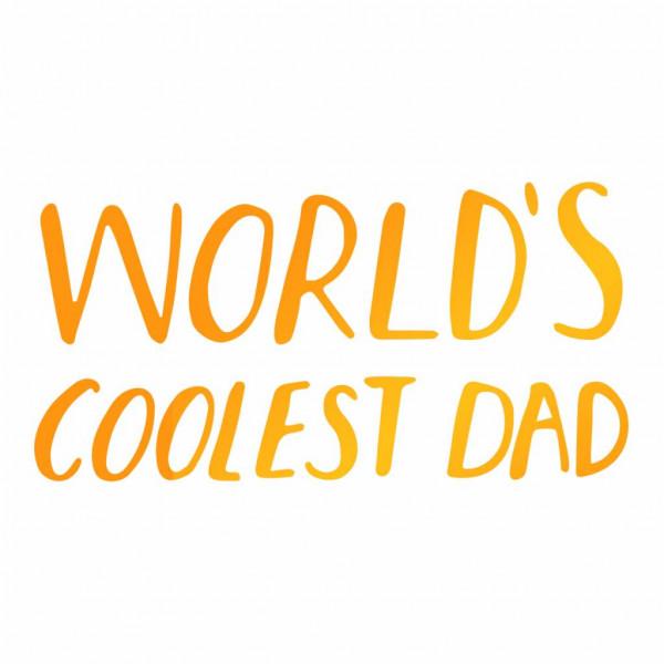Ultimate Crafts - Coolest Dad - Hotfoil Stamp