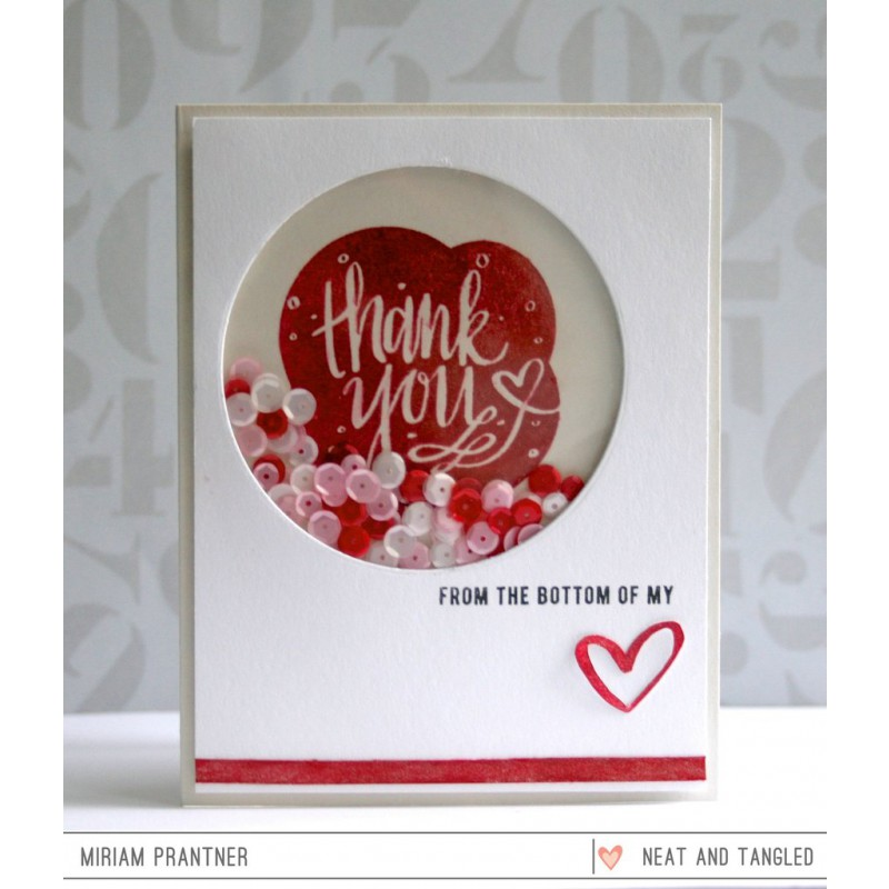 Neat & Tangled - All My Heart - Clear Stamps 3x4
