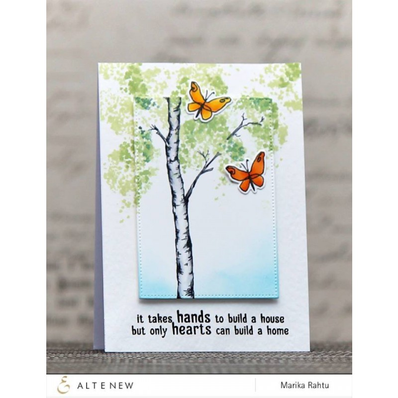 Altenew - Birch Land - Clear Stamps 4x6