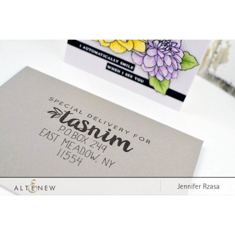 Altenew - From The Desk Of - Clear Stamps 4x6