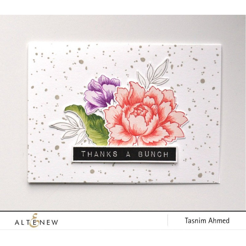 Altenew - Snowing - Clear Stamps 2x3