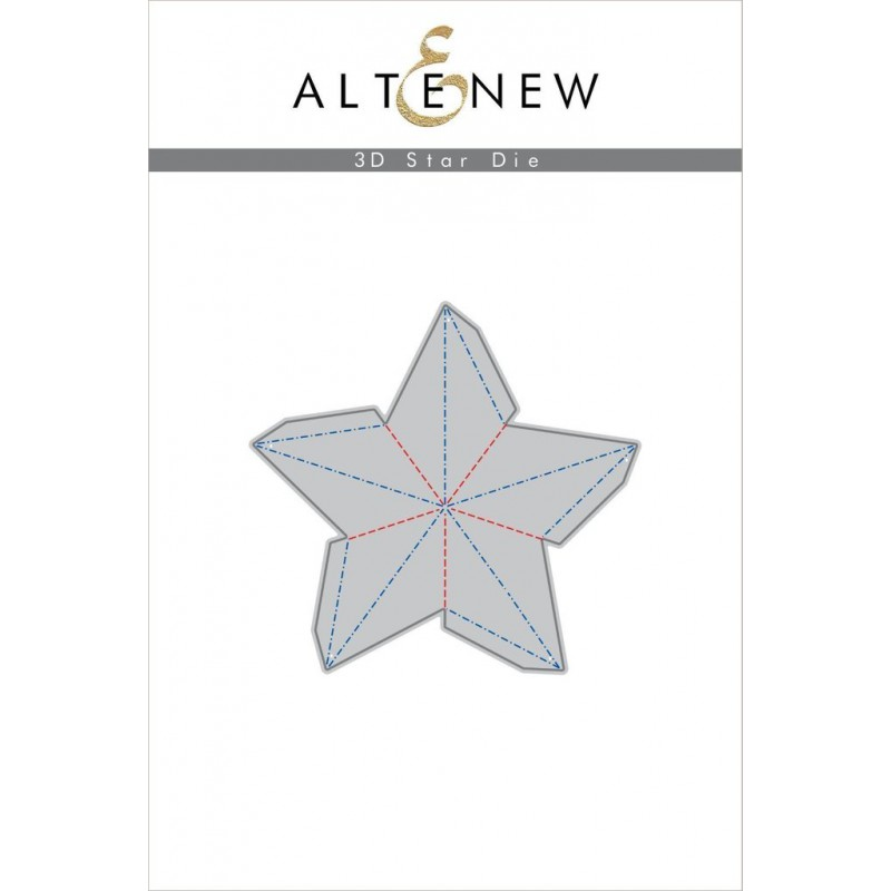 Altenew - 3D Star - Stanzen